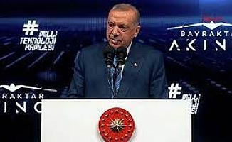 """Cumhurbaşkanı Erdoğan: """"Güçlü olmazsak vatanımızdan bizi bıçakla kazır gibi tasfiye edeceklerinden şüpheniz olmasın"""""""