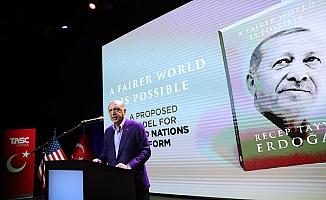 Cumhurbaşkanı Erdoğan New York'ta Kitabını Tanıttı