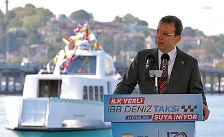 İBB, Yeni Nesil Deniz Taksileri Suya İndirdi