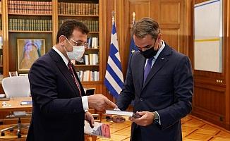 İmamoğlu: Yunanistan ve Türkiye arasında iyi niyet ve ortak akılla çözülemeyecek sorun yok
