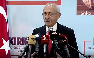 Kılıçdaroğlu: Millet İttifakı'yla, Allah'ın İzni ve Sizlerin Desteğiyle Türkiye'yi Bu Bataklıktan Çıkaracağız