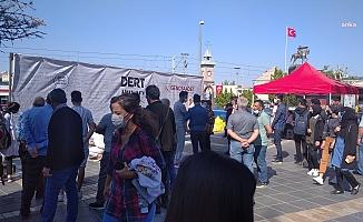 Saadet Partisi Kayseri'de Meydana ''Dert Duvarı'' Yerleştirdi, Duvar Doldu Taştı