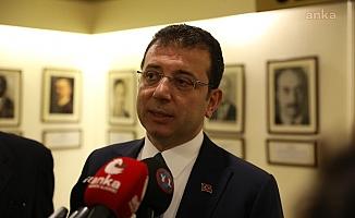 """İmamoğlu: """"16 milyon İstanbullu kazanacak, bir avuç plaka ağası kaybedecek. Gözünüz bizde olsun"""""""