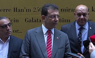 """İmamoğlu: """"Benim her gezimden partimin, Genel Başkanım Sayın Kemal Kılıçdaroğlu'nun haberi vardır"""""""