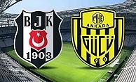 Beşiktaş - Ankaragücü maçında ilk 11'ler belli oldu