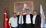 CHP'li Öztunç ve Ali Mahzuni'den Başkan Aksoy'a ziyaret