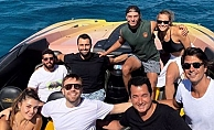 Acun Ilıcalı teknesinde ünlüleri ağırladı