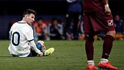 Messi sakatlandı, kadrodan çıkarıldı