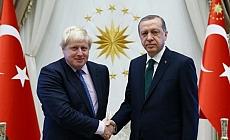 Erdoğan'dan Boris Johnson'a tebrik