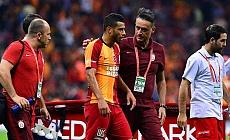 Galatasaray'ın yıldızı Younes Belhanda'nın çenesinde 2 kırık tespit edildi