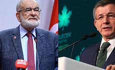 Davutoğlu'ndan Karamollaoğlu'na Taziye Telefonu