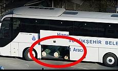 Cenazeler İBB'nin otobüsleriyle taşındı