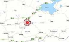 Siirt'te 5.2 büyüklüğünde deprem!