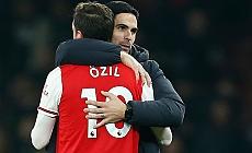 Arsenal menajeri Mikel Arteta: Onu özleyeceğiz