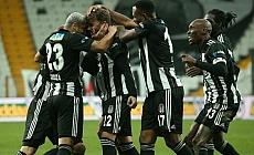 Beşiktaş devreyi zirvede tamamladı