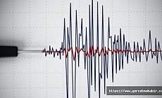 Elazığ'da 3.9 büyüklüğünde deprem