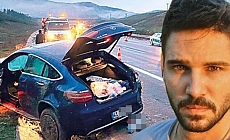 Tolgahan Sayışman trafik kazası geçirdi!