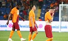 Galatasaray turu deplasmana bıraktı